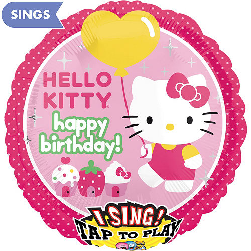 Singing Balloons Singing Birthday Balloons Party City