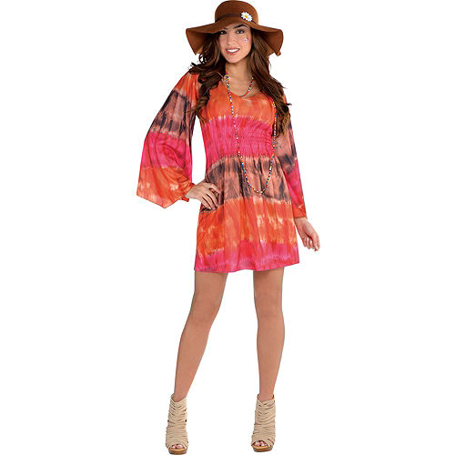 festival tie dye dress