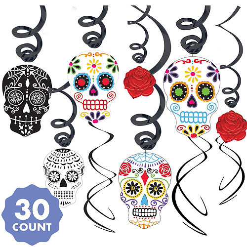 db8412276 Day of the Dead Decorations & Supplies - Day of the Dead Skulls ...