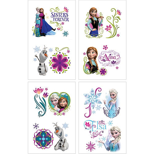 55fb0ae59 Temporary Tattoos - Fake Tattoos & Body Jewelry for Kids | Party City