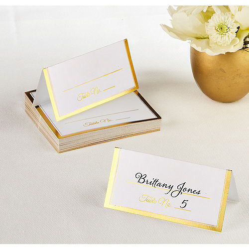 Wedding Place Cards Wedding Place Card Holders Party City