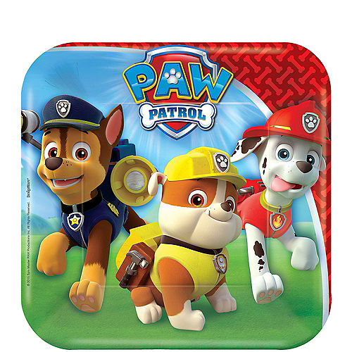 PAW Patrol Dessert Plates 8ct