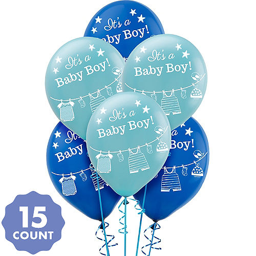 Baby Shower Decorations For Boys Party City