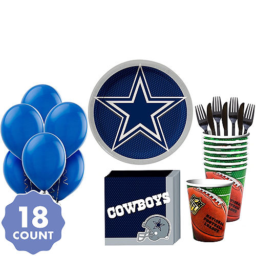 Super Dallas Cowboys Party Kit for 18 Guests e4cc7e3f7