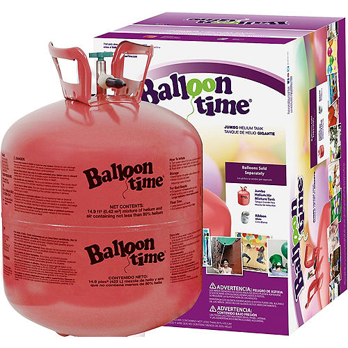 Balloon Time Large Helium Tank 149cu Ft