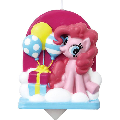 Wilton Pinkie Pie Birthday Candle