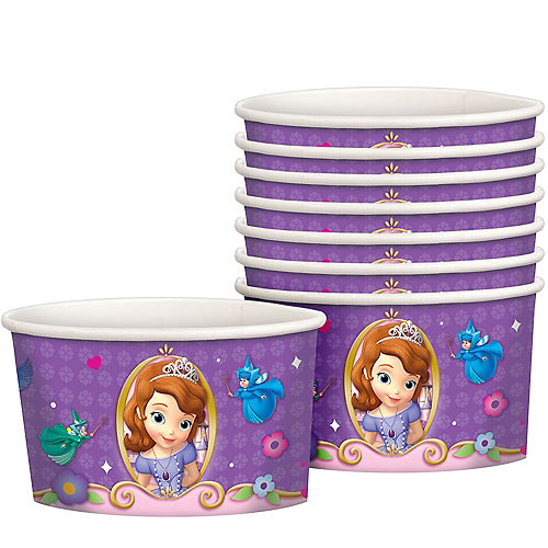 Sofia The First Treat Cups 8ct