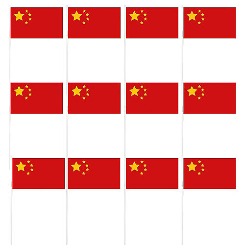 Chinese Flags 12ct