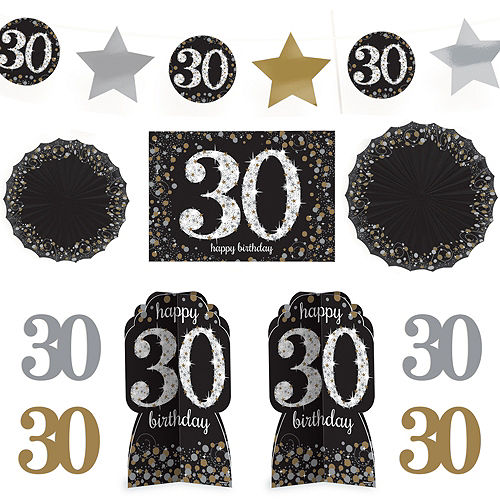 30th birthday party supplies 30th birthday ideas themes party city