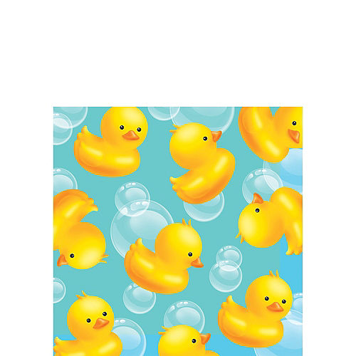 Rubber ducky baby shower supplies party city rubber ducky baby shower beverage napkins 16ct filmwisefo