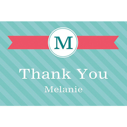 custom graduation thank you notes cards party city