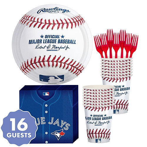 ceae79cc655 Toronto Blue Jays Party Kit for 16 Guests