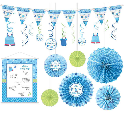 It S A Boy Baby Shower Party Supplies Party City Canada