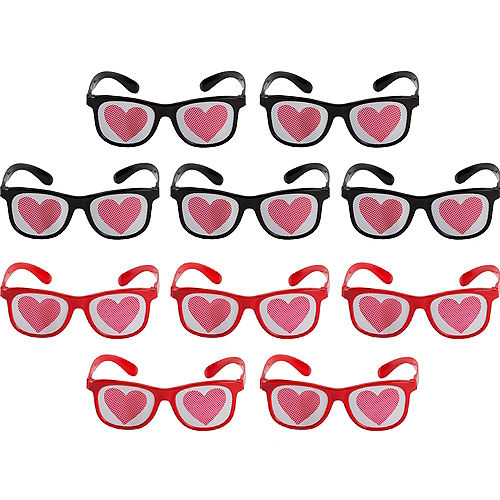d5b085d2a38 Heart Printed Glasses 10ct Quick View.  12.99. Heart Printed Glasses 10ct 5  1 2in x ...