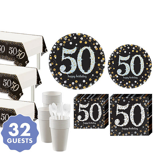 50th Birthday Party Supplies - 50th Birthday Ideas & Themes | Party City