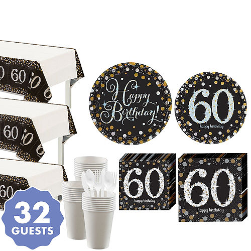 60th Birthday Party Decorations Canada
