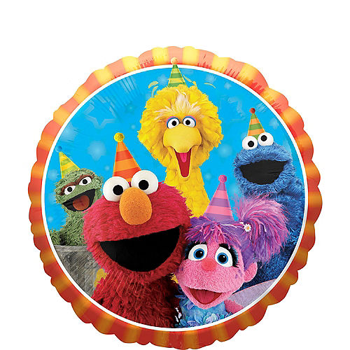 Sesame Street Birthday Balloon
