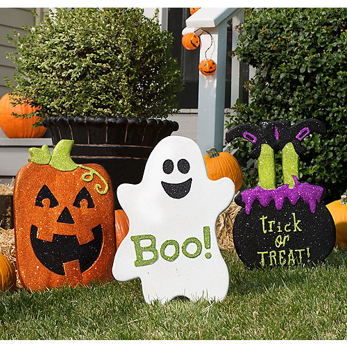 Halloween Friends Yard Decorating Kit Kid Friendly Halloween