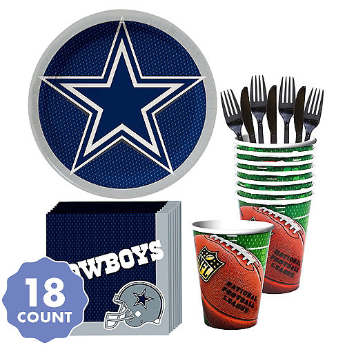 9ea6f2314bb1d Dallas Cowboys Party Kit for 18 Guests