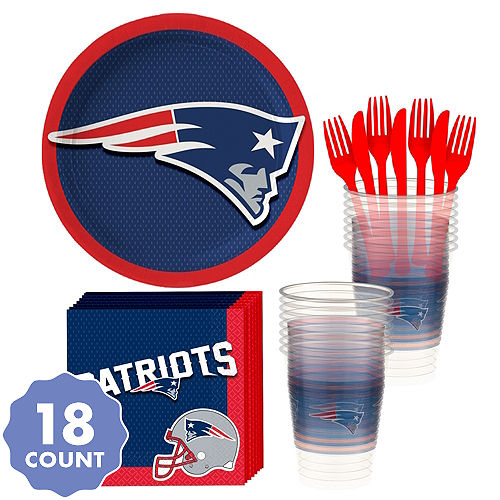 6a814f92341 New England Patriots Party Supplies & Decorations | Party City