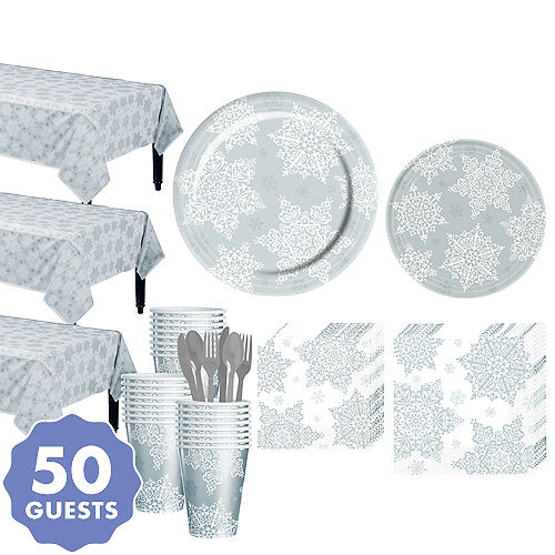 Shining Season Tableware Kit For 50 Guests