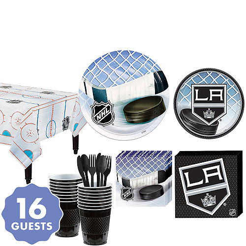 76c1ae9bfcc Los Angeles Kings Party Kit for 16 Guests