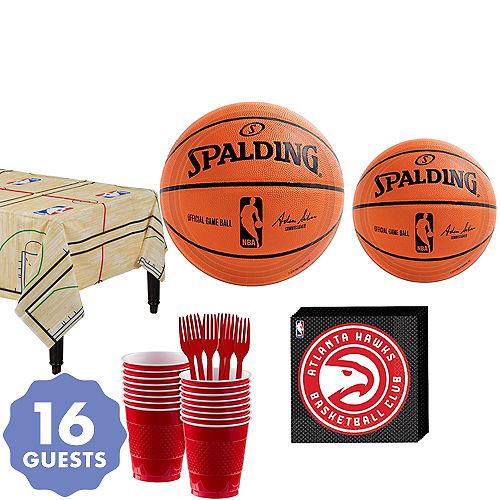 Atlanta Hawks Party Kit 16 Guests