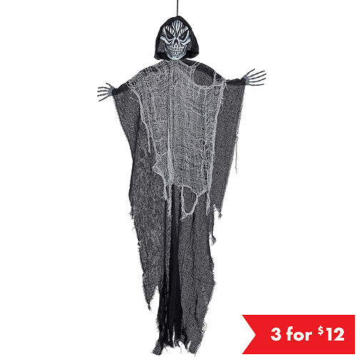 giant black grim reaper decoration