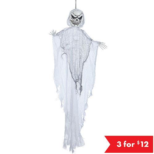 giant white grim reaper decoration