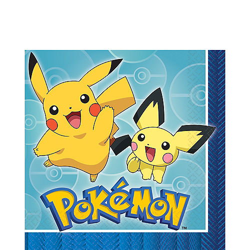 Pokemon Core Lunch Napkins 16ct