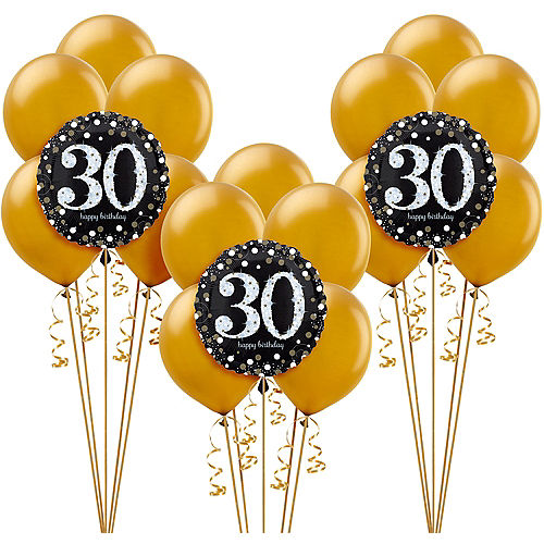 Sparkling Celebration 30th Birthday Balloon Kit