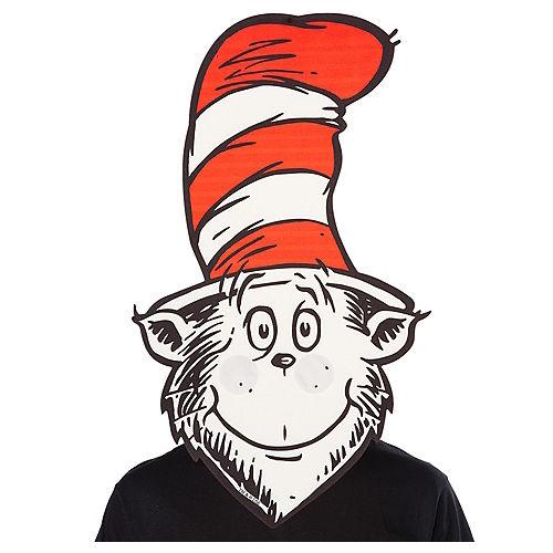 3ecc18e721432 Oversized Cat in the Hat Mask - Dr. Seuss