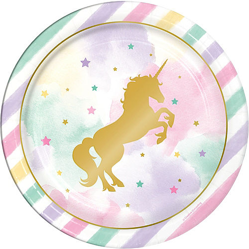 Sparkling Unicorn Baby Shower Party Supplies Party City