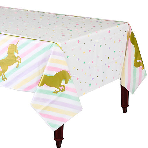 Sparkling Unicorn Table Cover