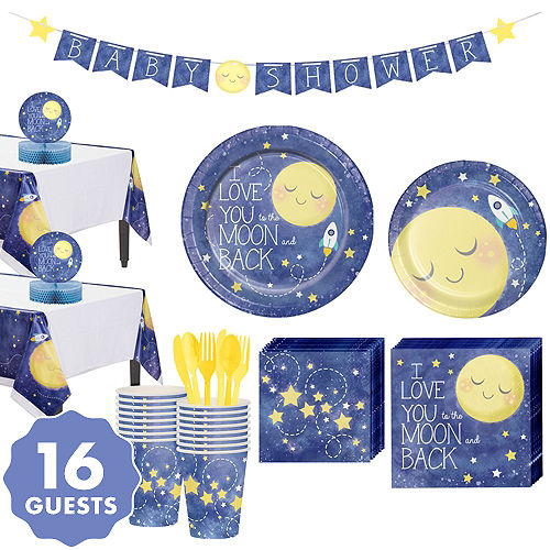 Moon Stars Baby Shower Party Supplies Party City