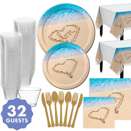 Beach Themed Wedding Supplies Decorations Favors Party City
