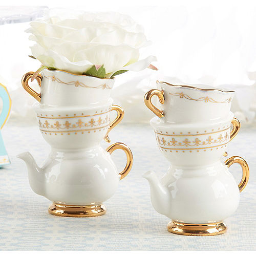 Tea Time Teapot Vase 3in X 3 34in Party City