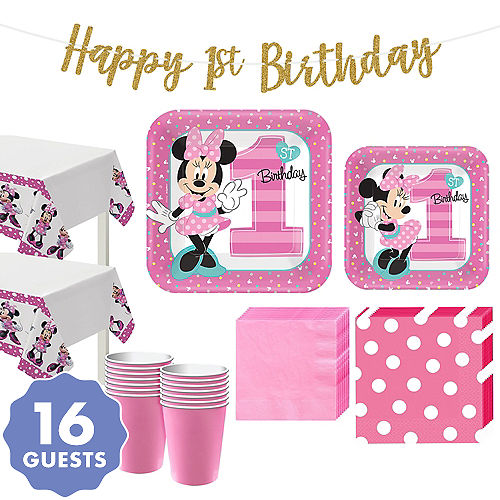 1st Birthday Party Supplies For Boys Girls