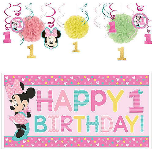 10601500 Minnie Mouse 1st Birthday Party Supplies | Party City