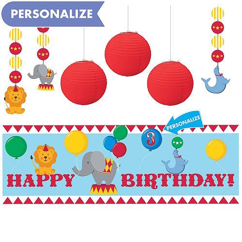 Carnival 1st Birthday Decorating Kit
