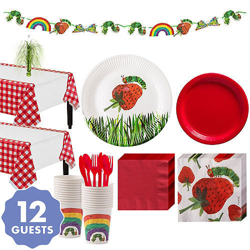 The Very Hungry Caterpillar 1st Birthday Party Supplies | Party City