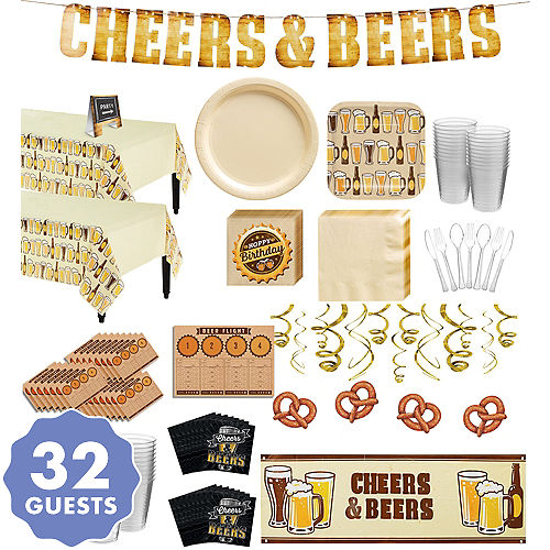 Cheers & Beers Party Supplies - Beer Theme Party | Party City