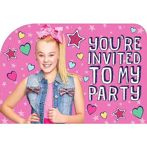 Birthday invitations custom birthday party invites party city canada jojo siwa invitations 8ct stopboris Choice Image