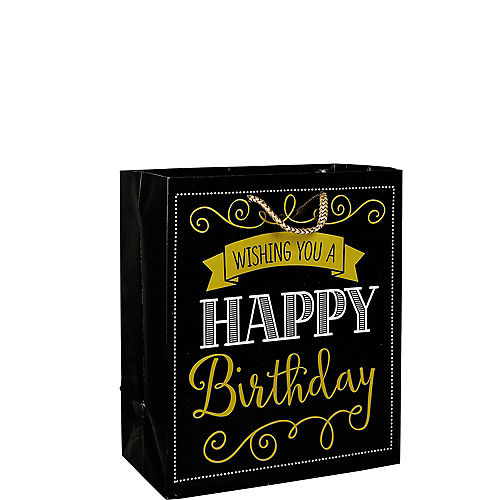 Elegant Wishing You A Happy Birthday Gift Bag