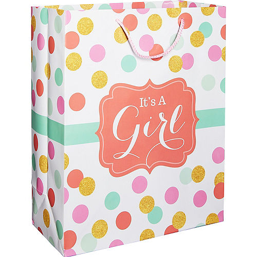 5c1a50df8af3 Baby Shower Gift Bags & Gift Wrap | Party City Canada
