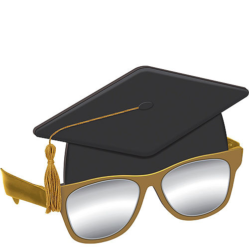 97fc9dbf659 Graduation Cap Sunglasses Quick View.  9.99. Graduation Cap Sunglasses 6 3 4in  x 5 1 4in Plastic Accessory