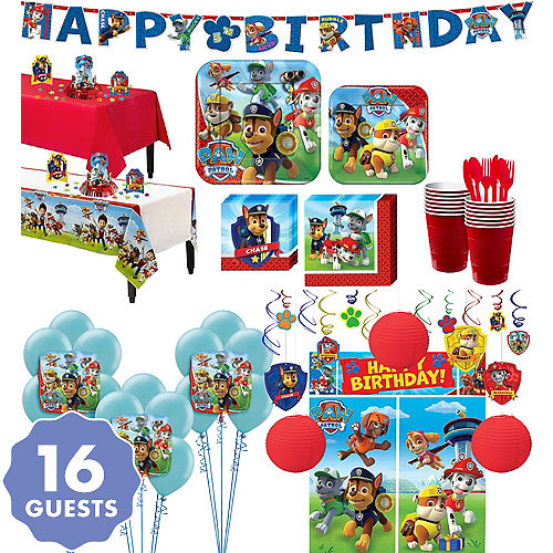 PAW Patrol Tableware Ultimate Kit For 16 Guests