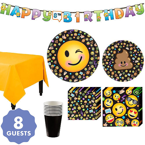 7c5f7a69d326 Smiley Party Supplies | Party City