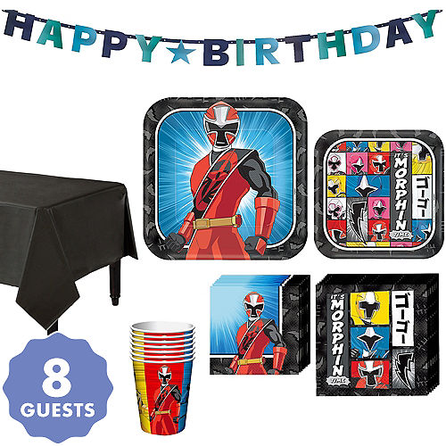 Power Rangers Party Supplies Power Rangers Birthday Party Party City