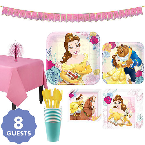 Beauty And The Beast Party Supplies Beauty And The Beast Birthday